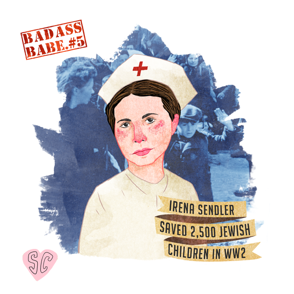 Irena Sendler Illustration by Sarah Cochrane