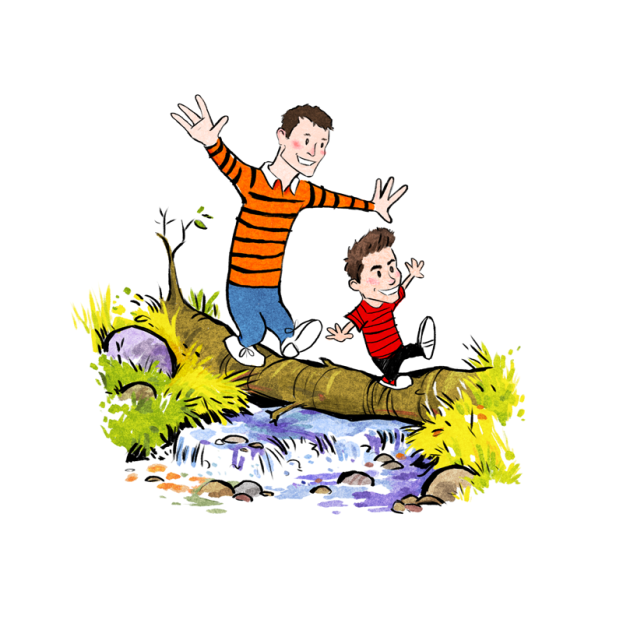 Calvin and Hobbes personalised commission