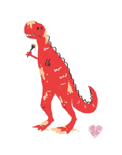Dinosaur Baking by Sarah Cochrane