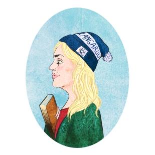 Emmy Stock Portrait illustration
