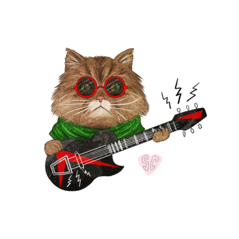 no one knows about persian cats illustration web