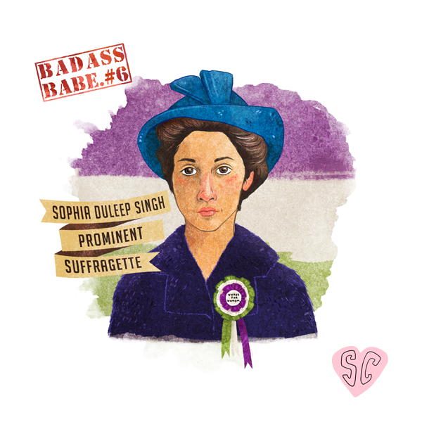 Sophia Duleep Singh Illustration by Sarah Cochrane