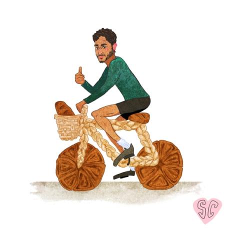 Tamal breadcycle illustration by Sarah Cochrane