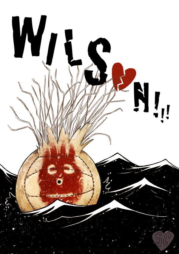 WILSON Castaway illustration sarah cochrane spooky woomb